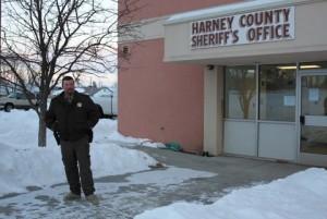 Harney County Sheriff David Ward