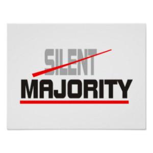 not silent majority