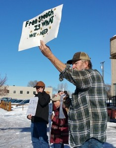 Citizens Rally, Burns. Photo: Redoubt News