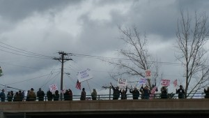 Memorial Rally, Coeur d'Alene, ID. Photo: Redoubt News