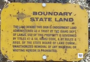 sign boundary